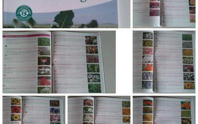 Zaden uitzoeken voor de biologische bloemenpluktuin